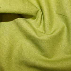 Rose & Hubble True Craft Cotton - Plain in Chartreuse - 58, per fat quarter