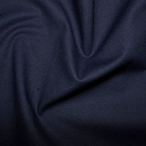 Rose & Hubble True Craft Cotton - Plain in Navy - 53, per fat quarter