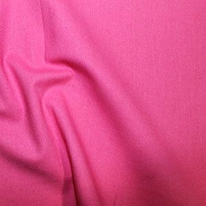 **NEW**  Rose & Hubble True Craft Cotton - Plain in Bright Pink 31, per fat quarter