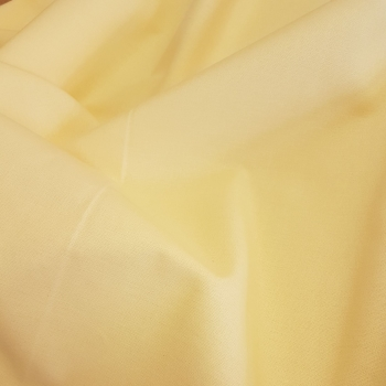 Rose & Hubble True Craft Cotton - Plain in Lemon - 14, per fat quarter