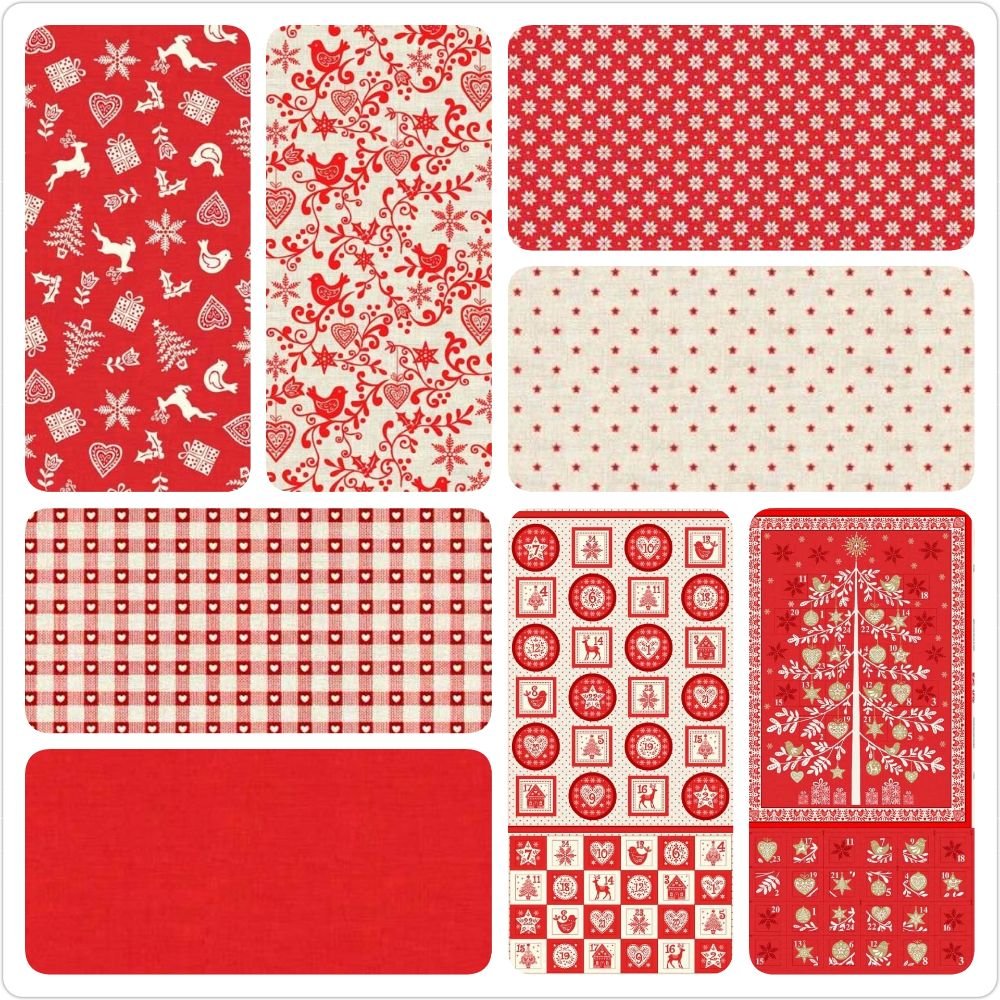 <!--107-->The Scandi Collection in Red