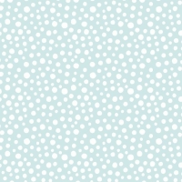 <!--9086-->Lewis &amp; Irene - Snow Day Snow Fall On Icy Blue (with pearlescent detailing), per fat quarter