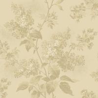 <!--3120A-->Makower UK - Blue Sky Lilacs in Goldenhour, per fat quarter