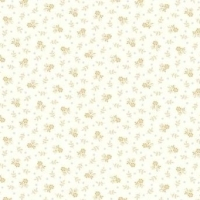 <!--3121-->Makower UK - Trinkets Ditsy Floral on White, per fat quarter