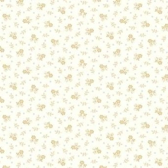 Makower UK - Trinkets Ditsy Floral on White, per fat quarter