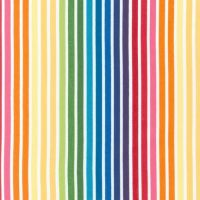 <!--5419-->Robert Kaufman - Remix Bold Stripe in Bright, per fat quarter