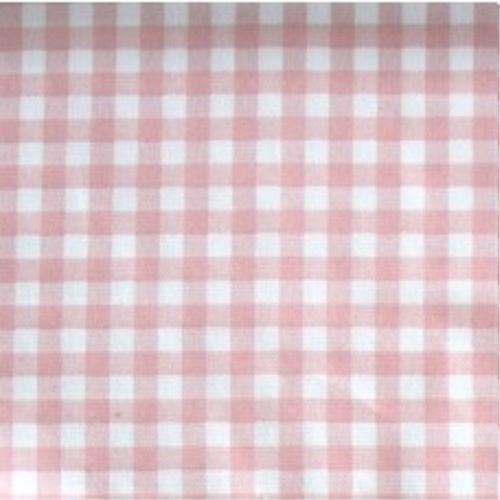 <!--2883-->Sevenberry - 5mm Gingham - Pink on White, per fat quarter