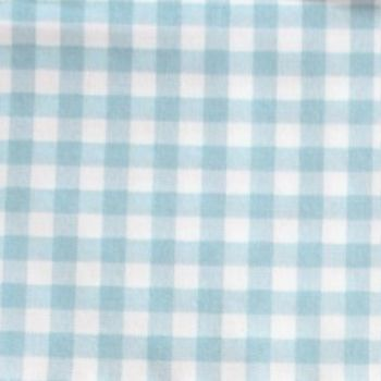 Sevenberry - 8mm Gingham - Blue on White, per fat quarter