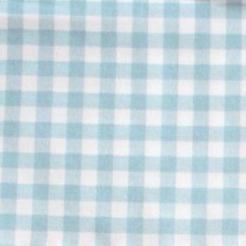 Sevenberry - 8mm Gingham - Blue on White, per fat quarter