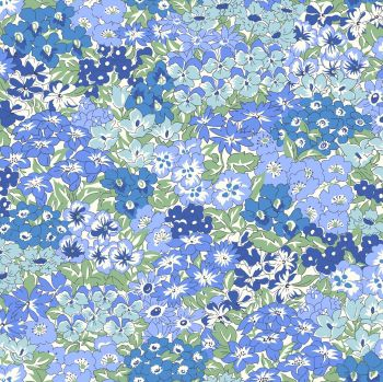 Liberty Of London - Orchard Garden - Wisley Grove in Blue (x), per fat quarter