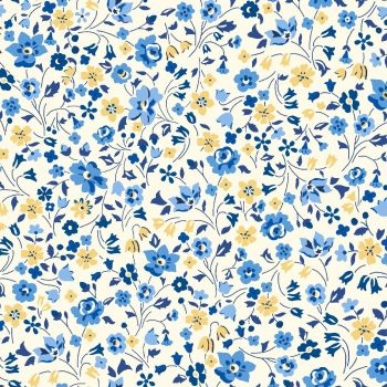 Liberty Of London - Orchard Garden - Kimberley & Sarah in Blue (x), per fat quarter