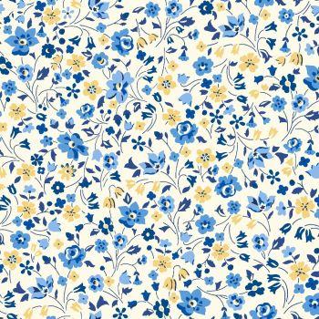 Liberty Of London - Orchard Garden - Kimberley & Sarah in Blue (x), per fat quarter