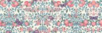 <!--7025-->Liberty Of London - Orchard Garden - Orchard in Coral Pink (Y), per fat quarter