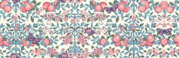 Liberty Of London - Orchard Garden - Orchard in Coral Pink (Y), per fat quarter