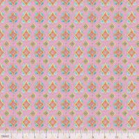 <!--5202-->Blend Fabrics - Waltz Of Whimsy - Pixie on Pink, per fat quarter