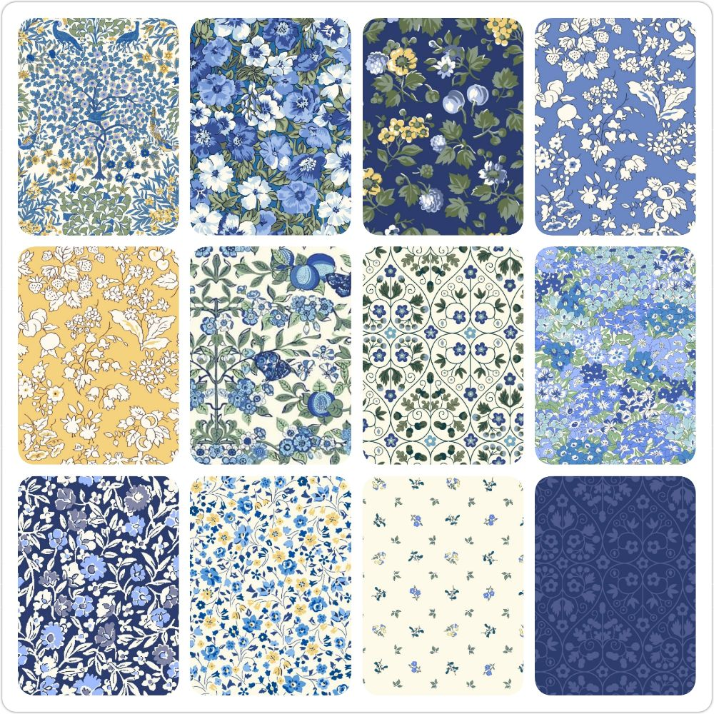 <!-- 2 -->The Orchard Garden Collection in Blues