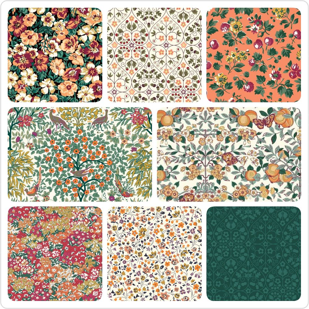<!-- 5 -->The Orchard Garden Collection in Oranges