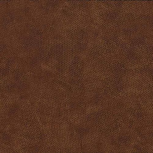 <!--3023-->Makower UK - Dimples in Bruin N4, per fat quarter