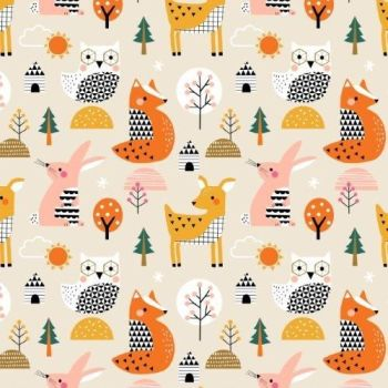 Dashwood Studios - Geo Forest - Scenic, per fat quarter