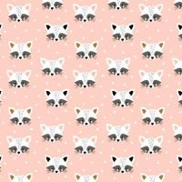 <!--5013-->Dashwood Studios - Geo Forest - Racoons, per fat quarter