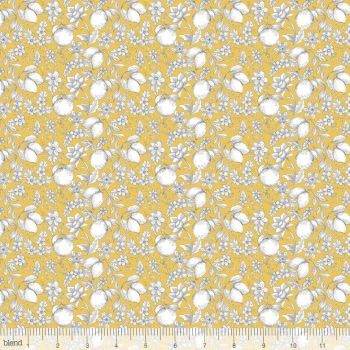 Blend Fabrics - Botanique - Jardin in Gold, per fat quarter