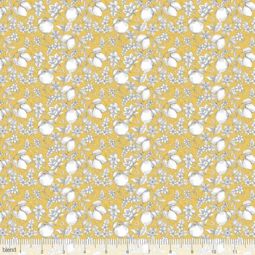 <!--5211-->Blend Fabrics - Botanique - Jardin in Gold, per fat quarter