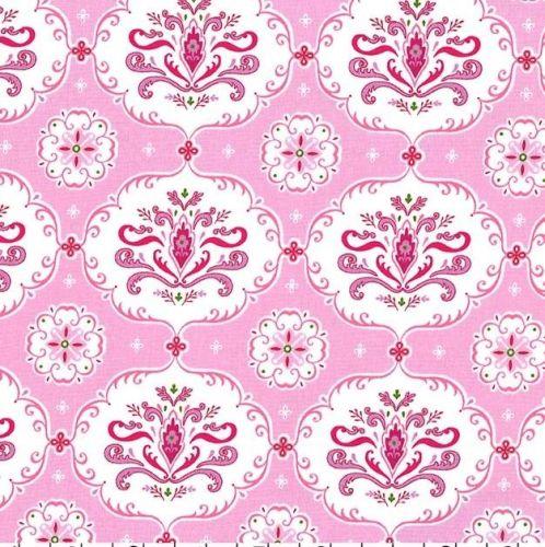 <!--5313-->Michael Miller Fabrics - Isabella - Hayley in Pink, per fat quar