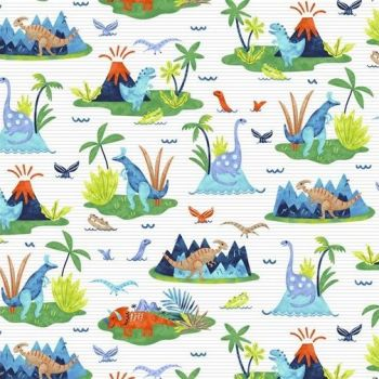 Studio E - Hear Me Roar - Scenic, per fat quarters