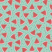 <!--5375-->Studio E - Summerlicious - Watermelons on Aqua, per fat quarter