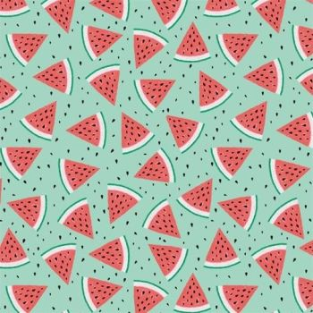 Studio E - Summerlicious - Watermelons on Aqua, per fat quarter
