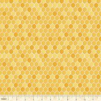 <!--5220-->Blend Fabrics - For the Love of bees - Honeycomb, per fat quarter