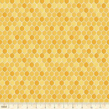 Blend Fabrics - For the Love of bees - Honeycomb, per fat quarter