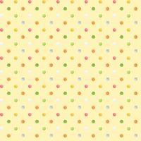 <!--5290-->Henry Glass - Sweet Tweet & Bunnies - Multi Spot on yellow, per fat quarter
