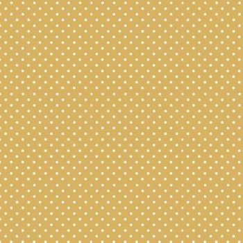 Makower UK - Polka Dot in Sand 830/Y6, per fat quarter
