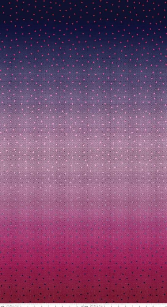 <!--5490-->Riley Blake - Gemstones - Tonal Blue Raspberry, per HALF METRE