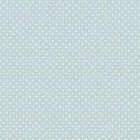 <!--3013-->Makower UK - Polka Dot in Baby Blue 830/B2, per fat quarter
