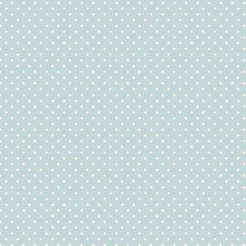 Makower UK - Polka Dot in Baby Blue 830/B2, per fat quarter