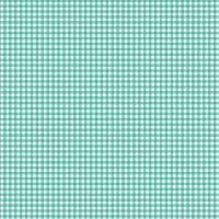 <!--3101-->Makower UK - Gingham in Turquoise 920/T6, per fat quarter