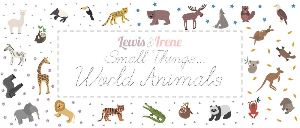 Small Things ... World Animals Graphic