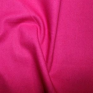 Rose & Hubble True Craft Cotton - Plain in Pomegranate - 32, per fat quarter