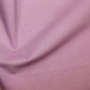 Rose & Hubble True Craft Cotton - Plain in Lavender - 36, per fat quarter