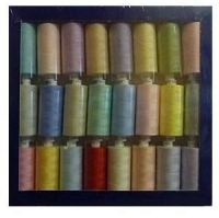 <!--  002a -->Box of 24 x 1000yrd Mixed Coats Moon Threads - Light Selection