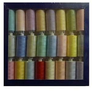 Box of 24 x 1000yrd Mixed Coats Moon Threads - Light Selection