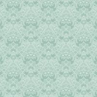 <!--4372-->Lewis & Irene - Hummingbird - Duck Egg Hummingbird Silhouette, per fat quarter