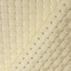 Binca Cross Stitch Fabric - Matt Cream, per quarter (50cm x 25cm)