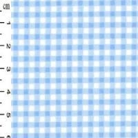 <!--1310-->Rose & Hubble - Gingham in Blue , per fat quarter