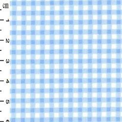 Rose & Hubble - Gingham in Blue , per fat quarter