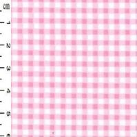 <!--1309-->Rose & Hubble - Gingham in Pink , per fat quarter
