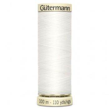Gutermann Sew-all Thread 100m - White 800