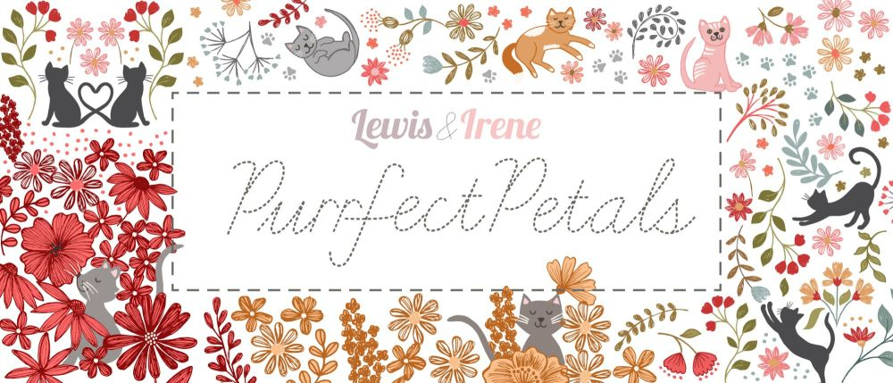 Purrfect Petals Graphic